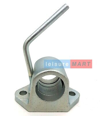 Ribbed for Jockey Wheels and Prop Stands TR021 AB Tools-Maypole 48mm Heavy Duty Cast Clamp