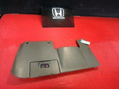 92-95 Honda Civic Under Driver Dash Fuse Box Cover Kick Panel Trim Cover Oem Tan