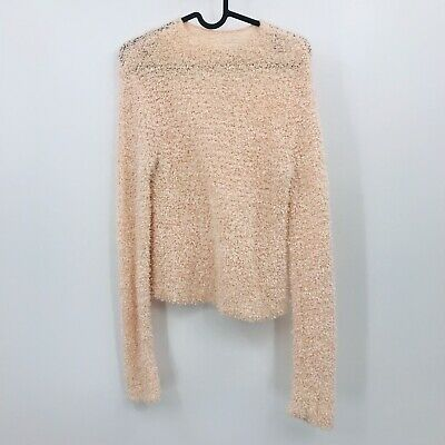 NEW WOMENS FEVER POPCORN KNIT 3//4 SLEEVE SWEATER VARIETY COLORS /& SIZES