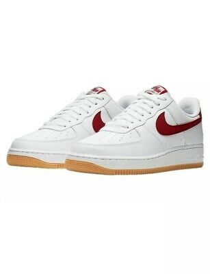 Nike Air Force 1 Low White Team Red Gum CI0057 101 On Sale