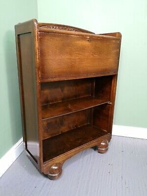 An Antique Mid 20th Century Tall Bureau Desk ~Delivery Available~