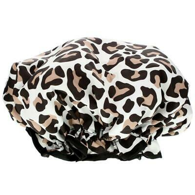 The Vintage Cosmetic Co., Shower Cap, Leopard Print, 1 Count