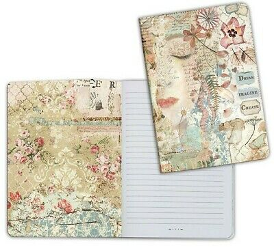 Stamperia A5 Face Lined Notebook