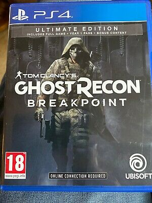 Tom Clancy's Ghost Recon Breakpoint Ultimate Edition  Sony Ps4 Game