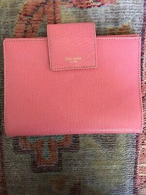 Kate Spade Pink Leather Day Planner