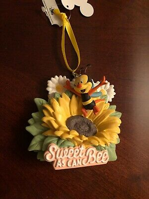 Disney Epcot Flower Garden Festival 2020 Spike the Bee Ornament New with Tag