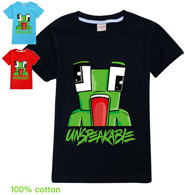 UNSPEAKABLE  boys black blue red summer tee t-shirt top size 5-12