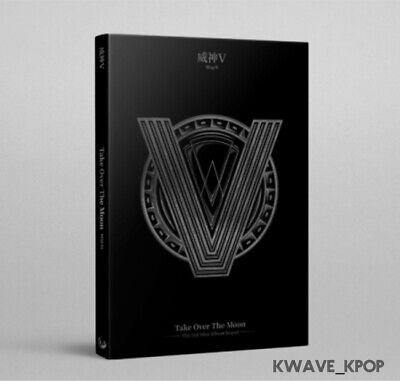 Way V - Take Over The Moon [Sequel] Kpop Sealed Cd Album Full Package +Poster