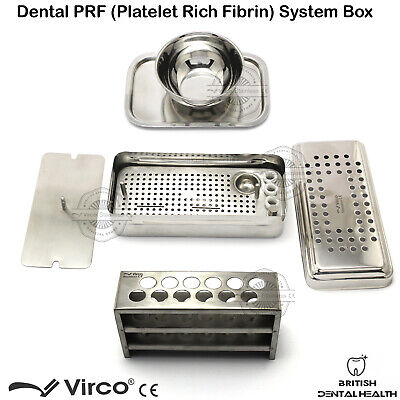 Complete PRF / GRF System Box Dental Platelet Rich Fibrin Surgery Set Stainless