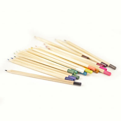 Pack of 20 Premium Colouring Pencils Vibrant Artist Pencil Set Quality Drawing