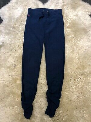 Ralph Lauren Girls Blue Navy Tracksuit Bottoms Age 16