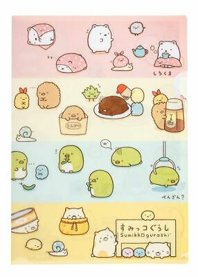 2 x Sumikkogurashi File Folders SAn-X Japanese Stationery