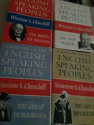 A History of the English-Speaking Peoples by Winston S. Churchill 4 Volume Set