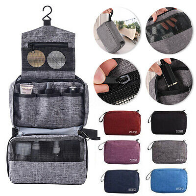 Toiletry Wash Bag Travel Hanging Cosmetic Storage MakeUp Organizer Pouch Case