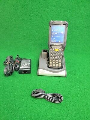 Symbol Motorola MC92N0 Wireless Barcode Scanner w/ Battery Charge Station