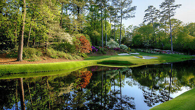 1 2 3 4 MASTERS Augusta 2020 Ticket WEDNESDAY 48 Badge Full Day IN HAND