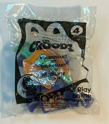 MOUSEPHANT Kids MINT 2013 Dreamworks Movie McDONALDS Happy Meal Toy THE CROODS