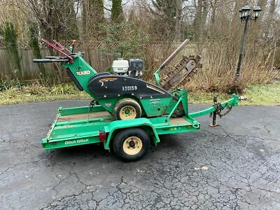 2007 Ditch Witch Trencher with Trailer