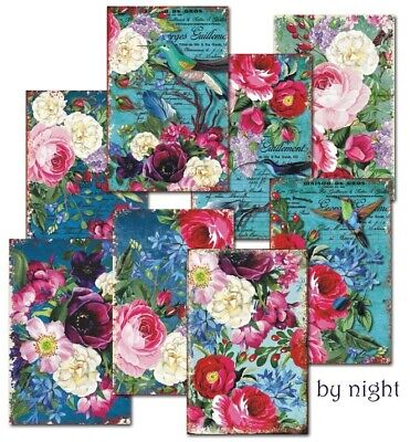 By Night Decorer Mini Paper Pack 24 sheets