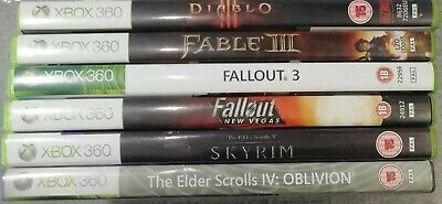 Xbox 360 Role Playing Games Bundle x6 - Preowned - Fast Dispatch