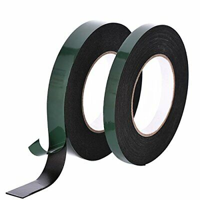 20 m Foam Tape Adhesive Sponge Double Sided Waterproof Mounting Tape...