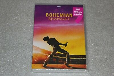 Bohemian Rhapsody DVD RERELEASE - POLISH RELEASE NEW SEALED