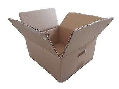 Cardboard Boxes - Double Wall Packing Cartons Storage Removals - Pack of 20