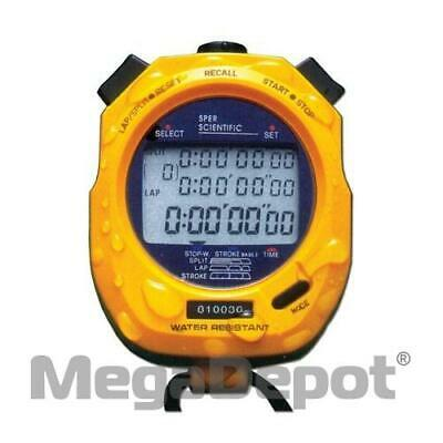 Sper Scientific 810036, 100 Memory Water Resistant Stopwatch