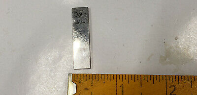 "0.050""  Webber Starrett Rectangle Steel Gage Gauge Block. shelf-f4 #2 webber box"