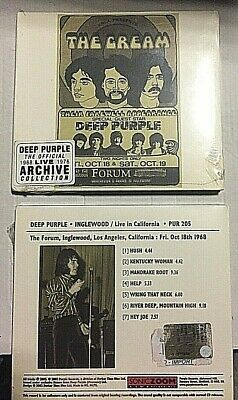 Deep Purple ‎– Inglewood / Live In California -CD DIGIPACK ORIGINAL- SEALED MINT
