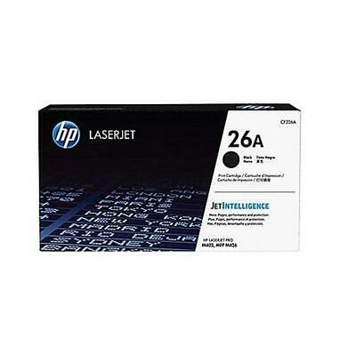 Hp 26A Black Laserjet Cartridge Toner