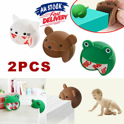 Safety Table Corner Furniture Edge Baby Child Kids Animal Protectors Guards AU