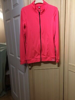 Girls Long Sleeve Zip Up Activity To Age 14 Yrs By Tu