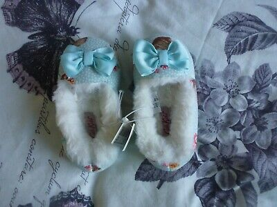 Cath Kidston girls slippers size 7 infant