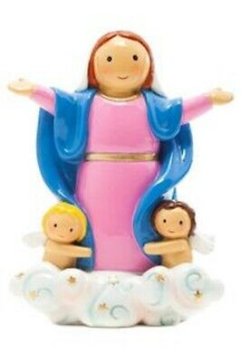 Our Lady of the Assumption Mary Little Drops of Water Children's Catholic Statue