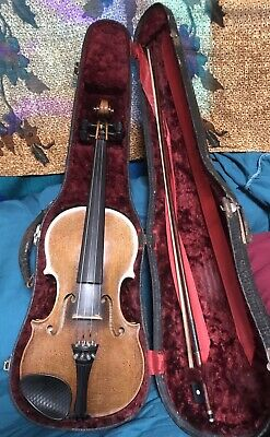 Violin 4/4 First National Institute of Allied Arts 1930s German Made Excl. Cond