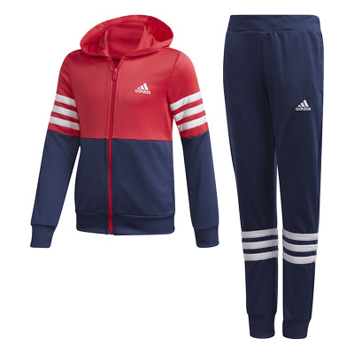 Adidas Hooded Girls  Track Suit