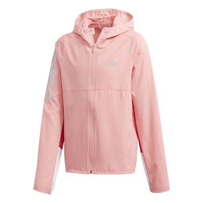 Adidas Own the Run Girls Windbreaker Jacket