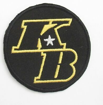 Kobe Bryant KB Lakers 2020 Jersey Patch Iron On Embroidery 2""