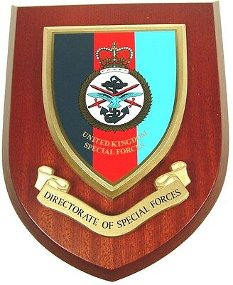 Directorate Of Special Forces Sas Sbs Classic Hand Made Regimental Wall Plaque