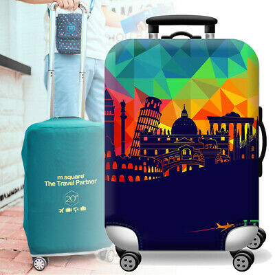City Seattle Travel Luggage Cover Suitcase Protector Fits 22-24 inch Luggage