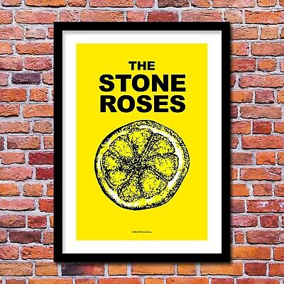 A3 A4 Size The Stone Roses 1989 Wall Poster