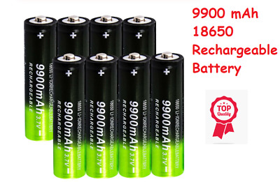 18650 9900mAh Rechargeable Battery High Capacity Li-ion Rechargeable Batterie