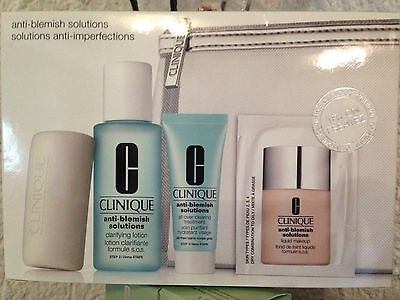 CLINIQUE Anti-Blemish Solutions Gesichtspflege-Set NEU&OVP