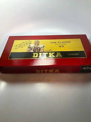 Camacho Mike Ditka Signed Cigar Box 3040/3064 ultra Limited collectors Edition!!