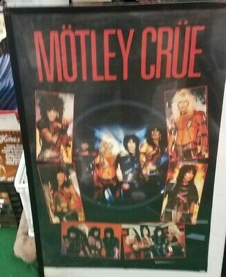 Motley Crue Poster New 2019 Future Vintage Collectible Sixx Tommy Lee  Rare