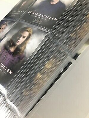 Twilight ,New moon, Eclipse Complete NECA Card Sets (224 Cards) In Binder