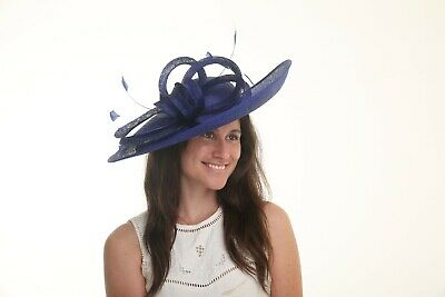 Stunning Hatinator..large statement  Sinamay disc for Wedding,races,occasion