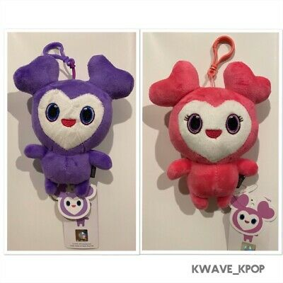 Twice [Once Halloween Fan Meeting] 2P Official Lovely Doll Key Ring Pink +Purple