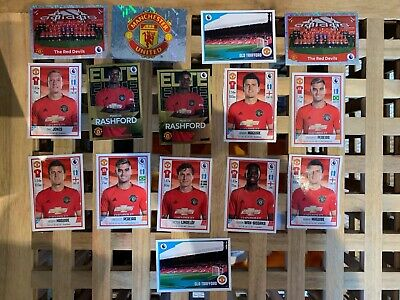 PANINI PREMIER LEAGUE 2020 FOOTBALL STICKERS COLLECTION Manchester United